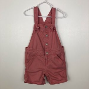 Baby Gap Girls Shortalls Denim Shorts